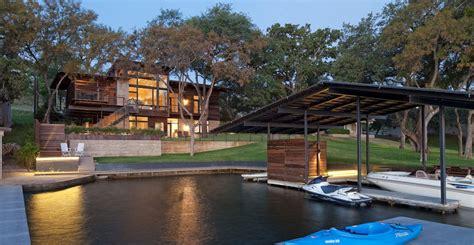lakeside retreat  lakeflato architects