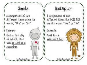 Similes and Metaphors Examples