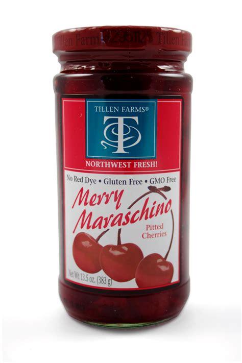 maraschino cherries tillen farms merry maraschino cherries awesomedrinks