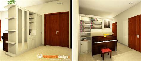 libreria per soggiorno librerie bifacciali su misura costruite in vero legno