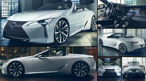 2019 lexus concept lexus lc convertible concept 2019 pictures