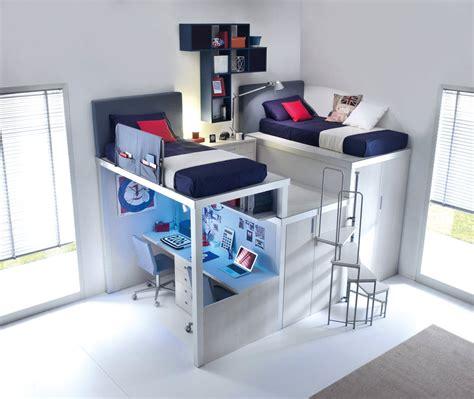 lit enfant mezzanine avec bureau