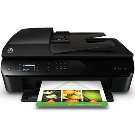 color printer walmart hp officejet 4630 wireless all in one inkjet color printer
