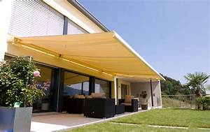 Toile Pour Terrasse : protection solaire store banne pour maison balcon et ~ Premium-room.com Idées de Décoration