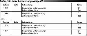Goz Zahnarzt Abrechnung : abrechnung nach bema und goz so vermeiden sie h ufige abrechnungsfehler teil 2 beratungen ~ Themetempest.com Abrechnung
