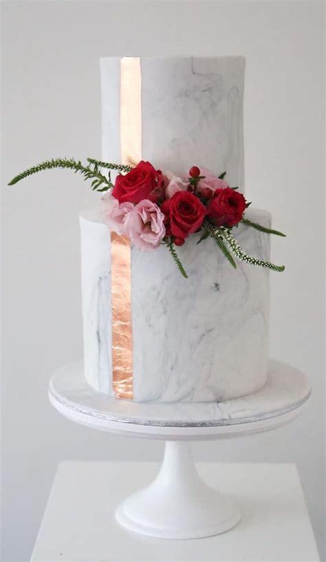 wedding trends marble wedding cakes belle  magazine