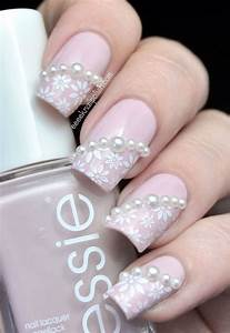 40+ Amazing Bridal Wedding Nail Art for Your Special Day ...