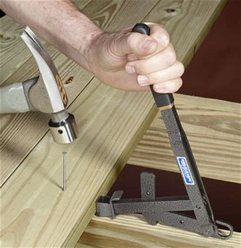 Trex Decking Spacing Tool by Deck Boards Straighten Deck Boards