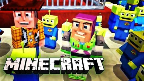 minecraft toy story mash  pack trailer