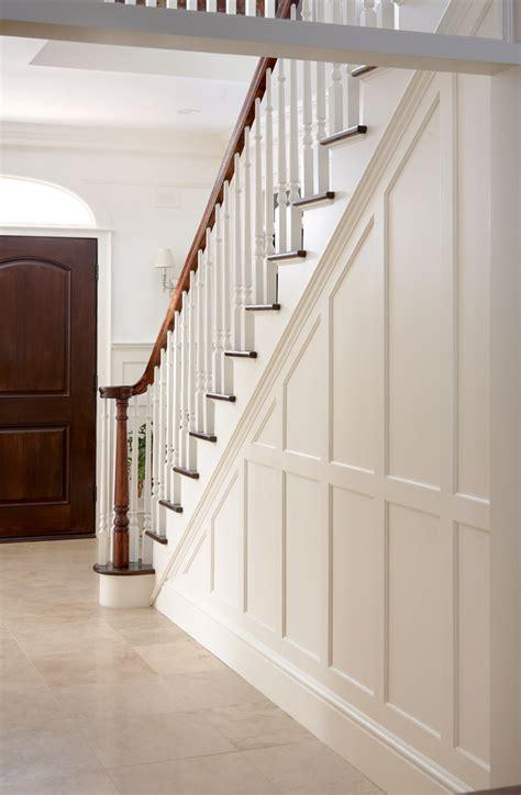 Entry Stair Railing  Split Foyer  Stephanie King Design