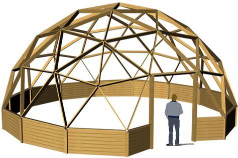 cupola geodetica legno cupola geodetica progettazione strutture prefabbricate