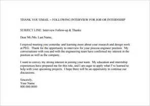 100 follow up letter after resume 6 thank you