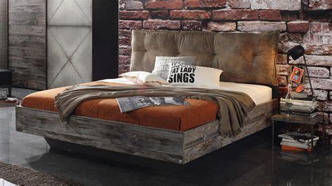 Betten Antik Look by Bett Timberstyle Graphit Sunwood Antik Braun Vintage