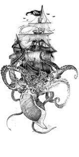 I had a dream of a thigh piece octopus tattoo and it needs