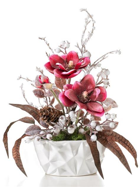 gesteck magnolie blumen gestecke deko