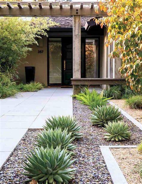 idee amenagement jardin am 233 nagement jardin devant maison en 50 id 233 es modernes
