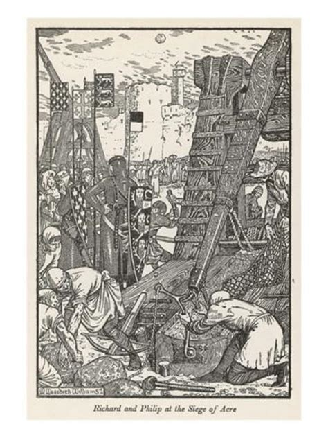 siege botanic the siege of acre 1191 giclee print at allposters com