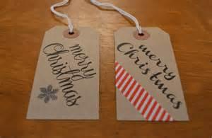 34 festive and diy christmas gift tags