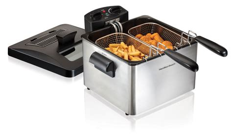 fryer deep hamilton beach double basket litre extra walmart fryers canada purchases upcoming zoom