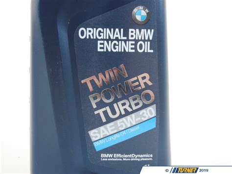 bmw twinpower turbo   synthetic oil