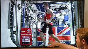 British Astronaut runs marathon in ISS - Picture ...