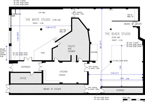 design blueprints photography studio design plans imgkid com the