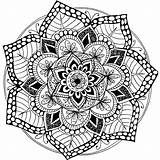 Mandala Pages Coloring Colored Printable Print Butterfly Getcolorings sketch template