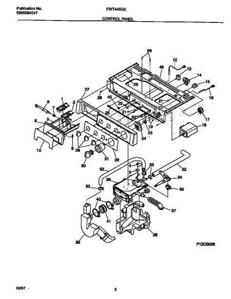 Frigidaire Front Load Washer Parts Diagram Automotive