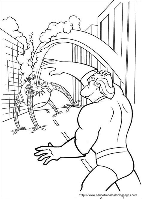 incredibles coloring pages educational fun kids coloring pages  preschool skills worksheets