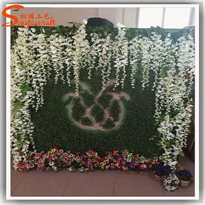 Indoor or outdoor wedding decoration flower artificial