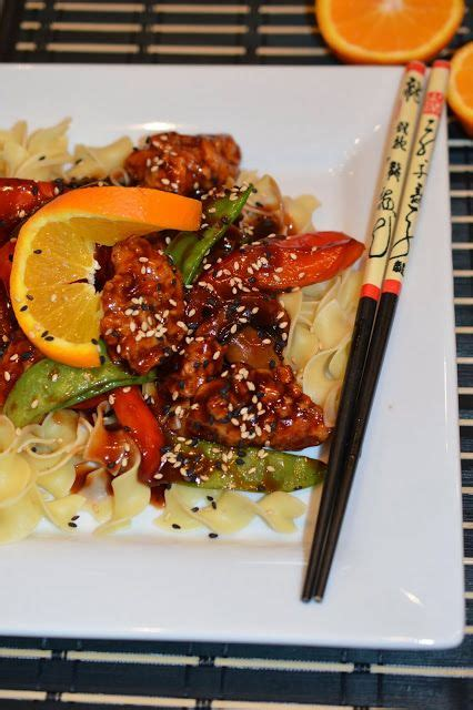 cuisine chinoise poulet croustillant 1000 idées sur le thème poulet chinois à l 39 orange sur