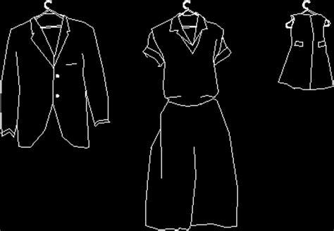 clothes  hanger  dwg block  autocad designs cad
