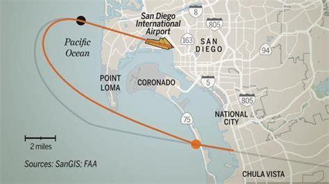 New flight path for Lindbergh Field - The San Diego Union ...