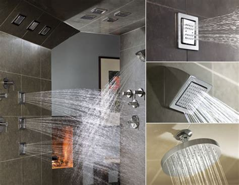 with their low profile design watertile showerheads