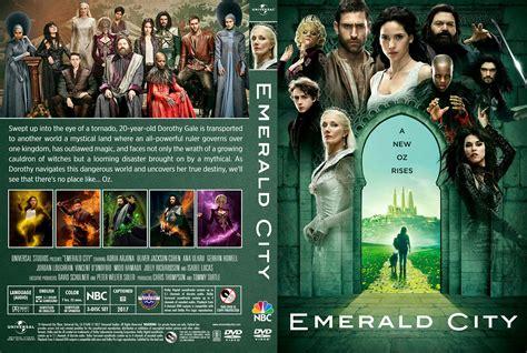 emerald city season  dvd cover cover addict dvd