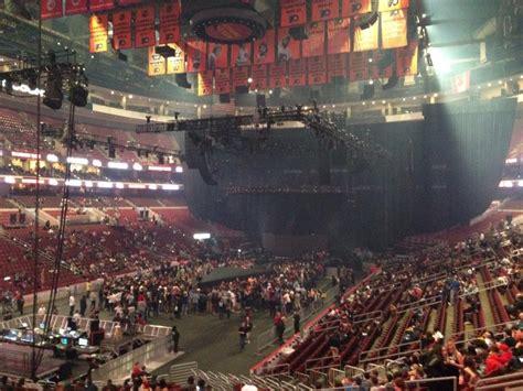 wells fargo center section  concert seating rateyourseatscom