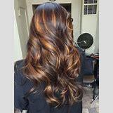 Dark Brown Hair With Caramel Highlights | 736 x 981 jpeg 129kB