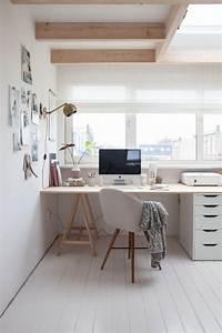 Travailler De Chez Soi : un bureau la maison ou comment travailler chez soi ~ Melissatoandfro.com Idées de Décoration