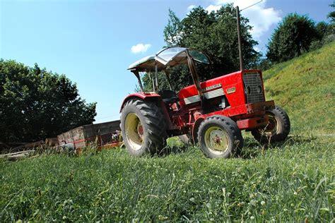 Photo Gratuite Red, Tracteur, Agriculture, Ferme Image