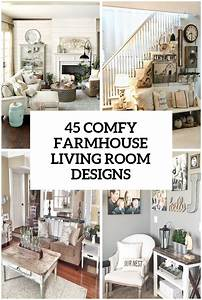 45 comfy farmhouse living room designs to steal digsdigs With kitchen colors with white cabinets with hobby lobby map wall art