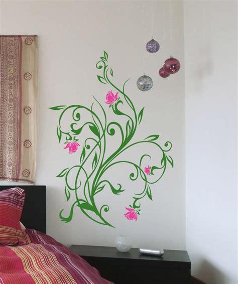 vinyl wall decal sticker flower vines