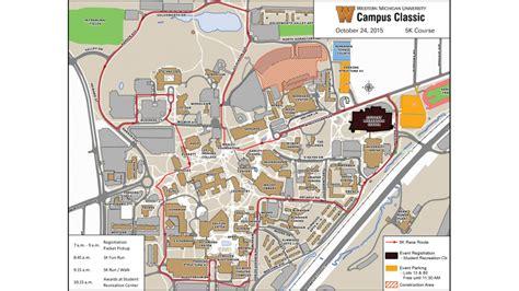 Western Michigan University Campus Map