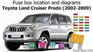 Fuse Box Location And Diagrams  Toyota Land Cruiser Prado 120  2002-2009