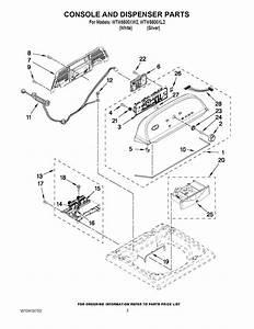 30 Whirlpool Cabrio Washer Parts Diagram