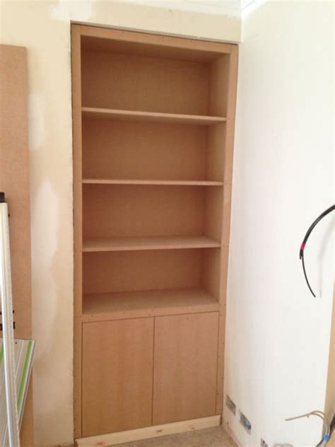 Cupboard Shelves by Renovation Projects Mdf Cupboards And Shelving