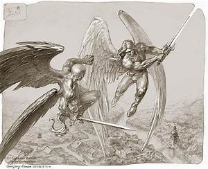 Arch AngeL MichaeL vs. Lucifer MorningStar | Lost n' found ...