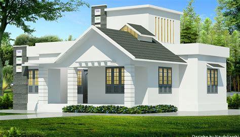 sq ft contemporary single floor home design