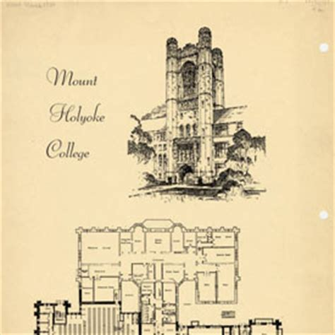 Mount Holyoke Floor Plans by A Collegiate Moment Two Schools Of Thought