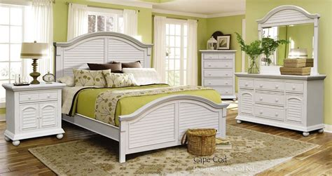 Cape Cod Bedroom by Cape Cod Panel Bedroom Set Cottage Creek Furniture