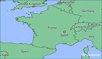 Where is Lyon, France? / Lyon, Rhone-Alpes Map ...
